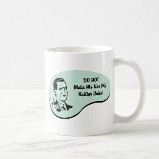 Knitter Voice Mugs