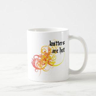 Knitters Are Hot Coffee Mug