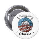 Knitters for Obama Button #2