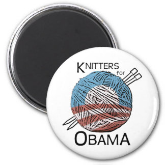 Knitters for Obama Magnet #1