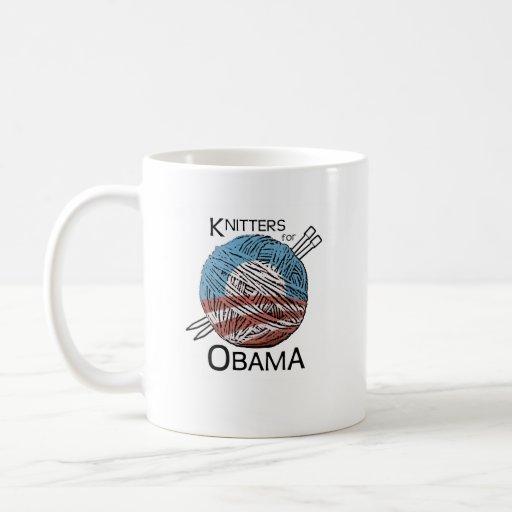 Knitters for Obama Mug #1
