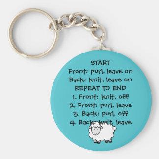 Knitter's Keychain