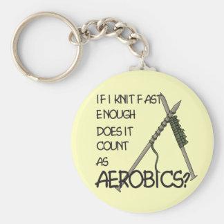 Knitting Aerobics Key Chains