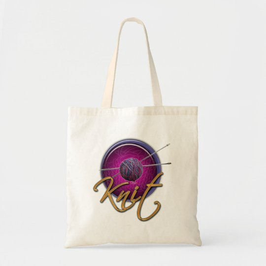 Knitting Bag tote