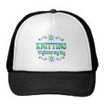 Knitting Brightens Hat
