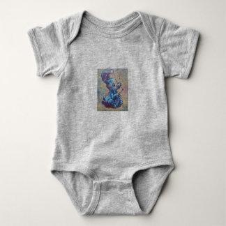 Knitting Bunny Baby Bodysuit