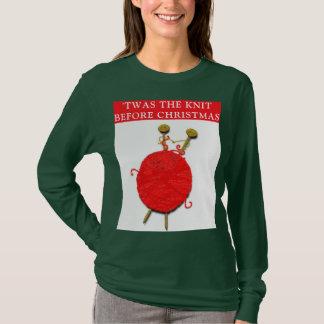 knitting Christmas T-Shirt