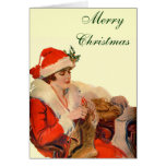 Knitting for Christmas Greeting Cards