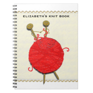 Knitting gifts notebook