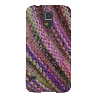 Knitting in Sunset Colours Galaxy Nexus Cover
