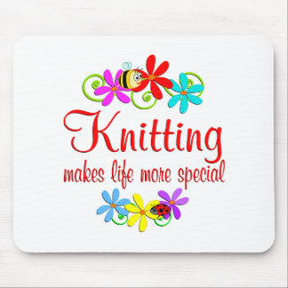 Knitting is Special Mouse Mat