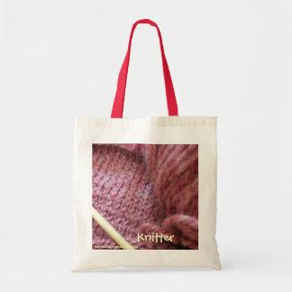 Knitting Knitter s Bag Canvas Bag