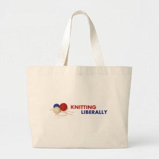 Knitting Liberally - Tote Bag