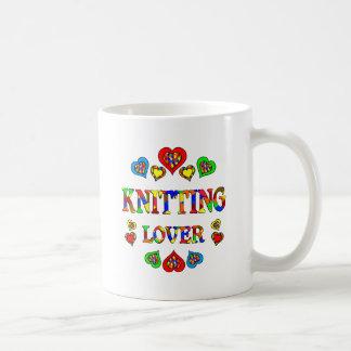 Knitting Lover Basic White Mug