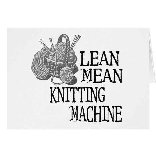 Knitting Jokes Gifts : Knitting machine zazzle