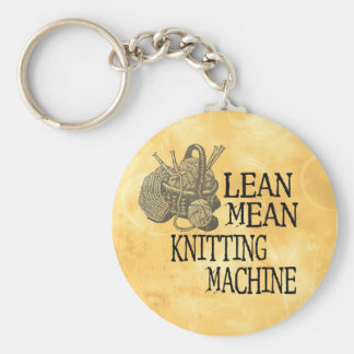 Knitting Machine Key Ring