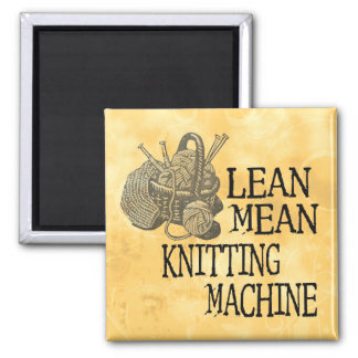 Knitting Machine Square Magnet