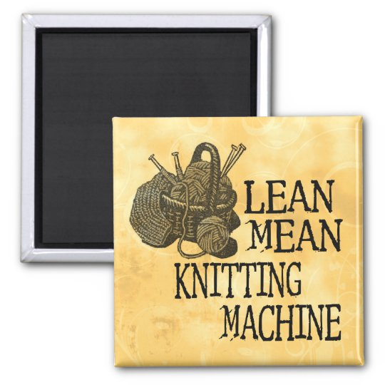 Knitting Machine Square Magnet