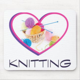 Knitting Mouse Mat