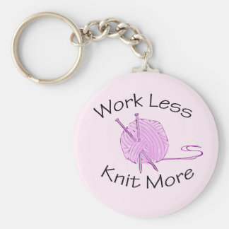 Knitting Passion Key Chains