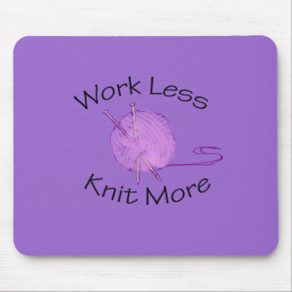 Knitting Passion Mouse Mat