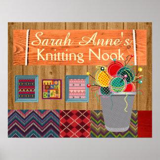 Knitting Poster - SRF