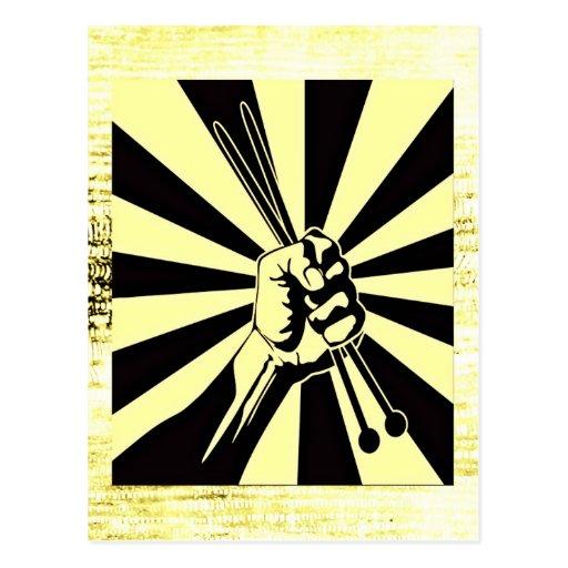 Knitting Power: Creative Motivational Postcards
