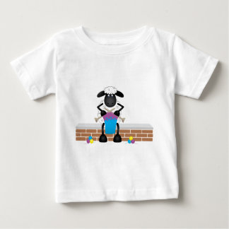 Knitting Sheep For Ewe Baby T-Shirt