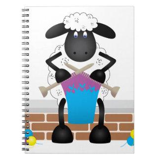 Knitting Sheep For Ewe Notebooks