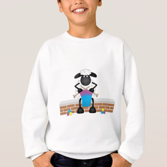 Knitting Sheep For Ewe Sweatshirt