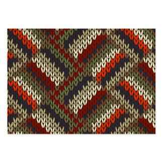"Knitting Tag ""Handmade By"" Business Card - SRF"