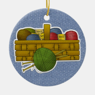 Knitting Tag / Ornament - SRF