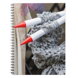 knitting workwoman notebook