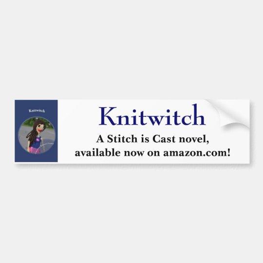 Knitwitch Bumper Sticker