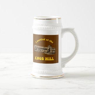 Knob Hill Beer Stein- Retro Design Beer Steins