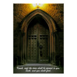 Knock and the Door Shall Be Opened (1) Poster