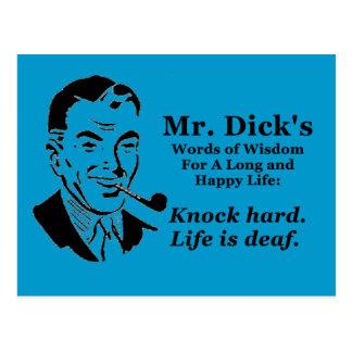 Knock Hard Postcards