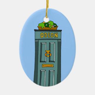 Knock Knock Christmas Ornament