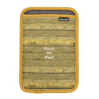 Knock On Wood iPad Mini Vertical Sleeve iPad Mini Sleeve
