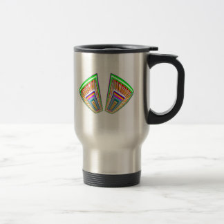 Knock open your heart - find the Treasures Stainless Steel Travel Mug