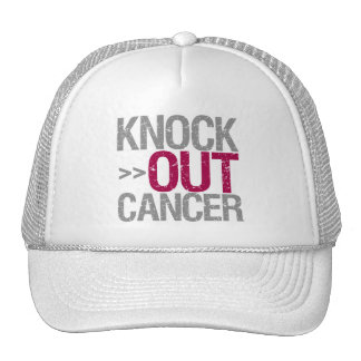 Knock Out Cancer - Head and Neck Cancer Mesh Hat