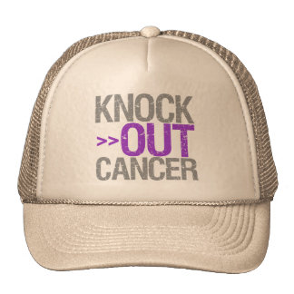 Knock Out Cancer - Leiomyosarcoma Hat