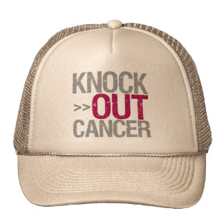 Knock Out Cancer - Multiple Myeloma Mesh Hat