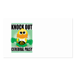 Knock Out Cerebral Palsy Pack Of Standard Business Cards