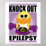 Knock Out Epilepsy Poster