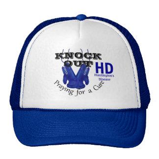 Knock Out Huntington s Disease HD Awareness Trucker Hat