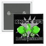 Knock Out Lyme Disease Buttons