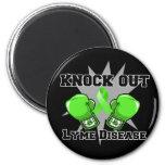 Knock Out Lyme Disease Fridge Magnet
