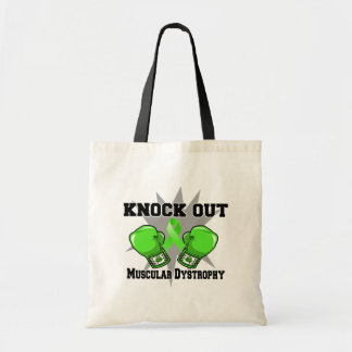 Knock Out Muscular Dystrophy Canvas Bag
