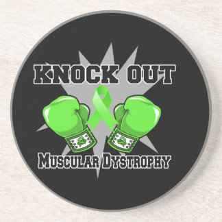 Knock Out Muscular Dystrophy Coaster